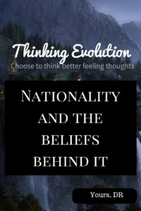 Nationality and the beliefs behind it